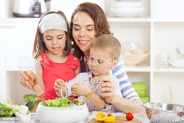 Salad Stock Photo - Download Image Now