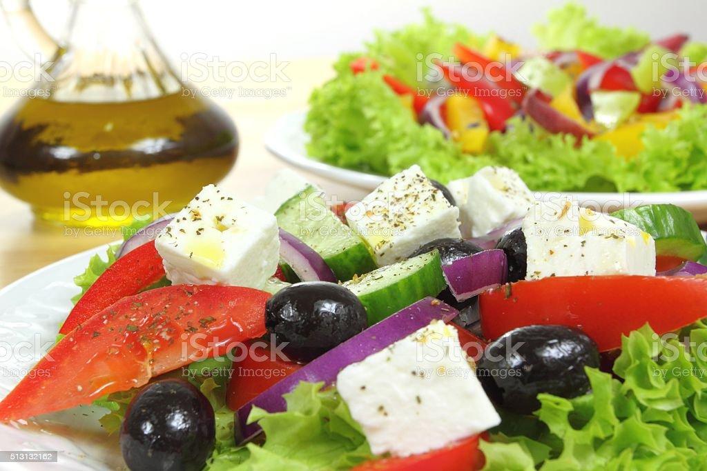 Salad. stock photo