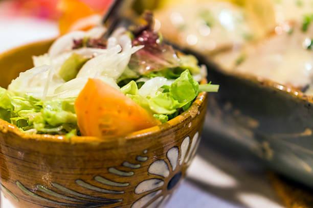 salat - chefkoch auflauf stock-fotos und bilder