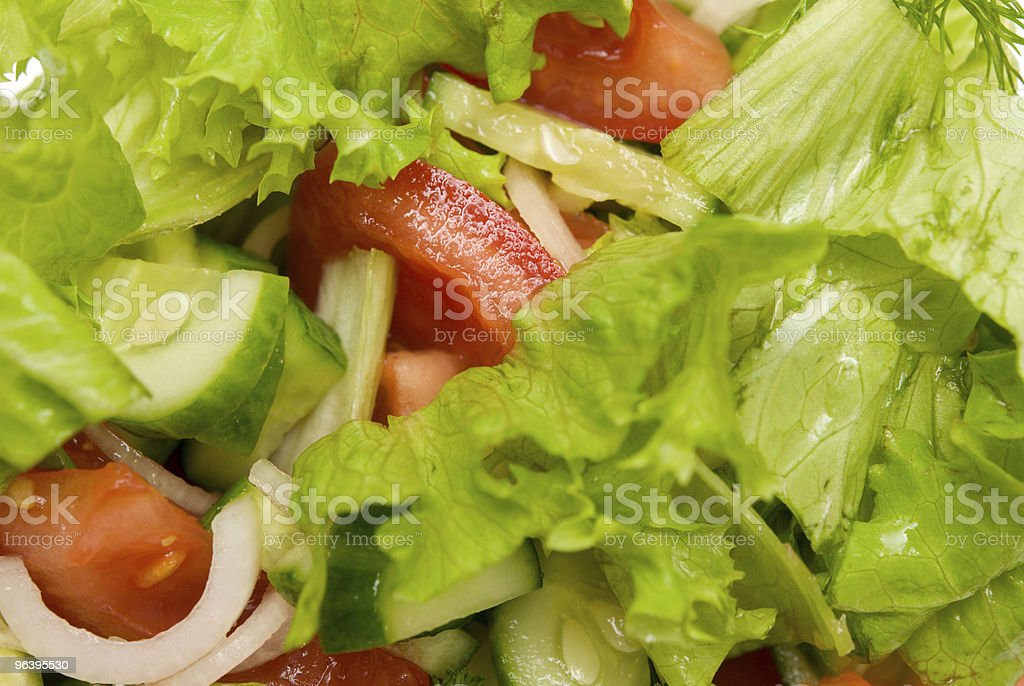 salad - Royalty-free Color Image Stock Photo
