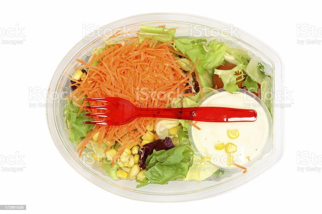 Salad Ready to Eat royalty-free stock photo