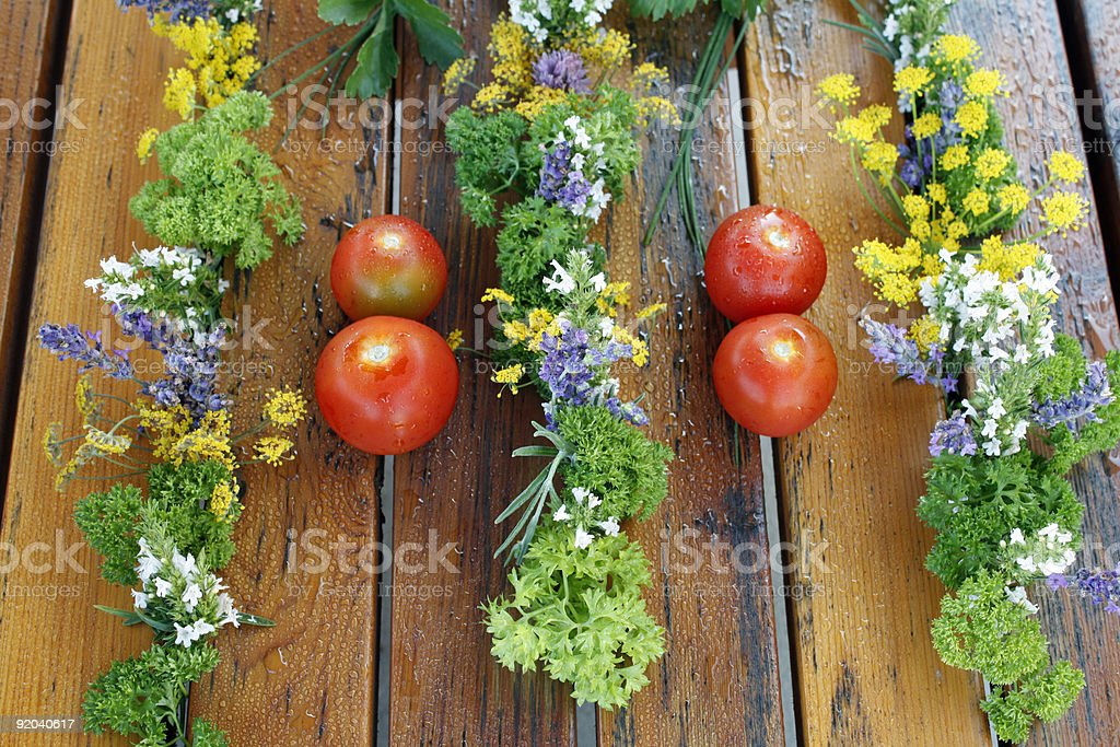 salad trim royalty-free stock photo