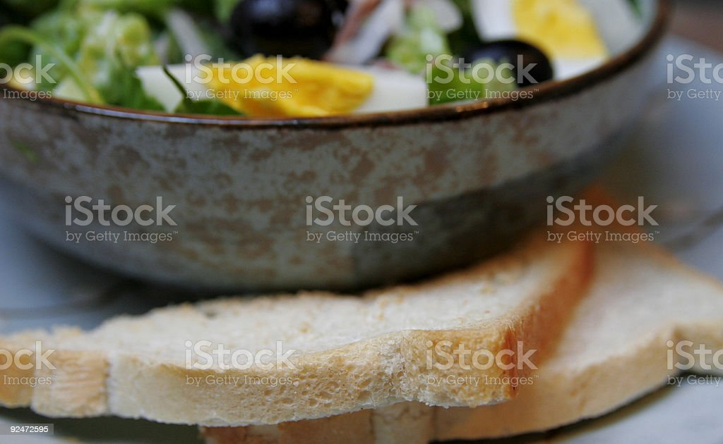 Salade Niçoise #3 royalty-free stock photo