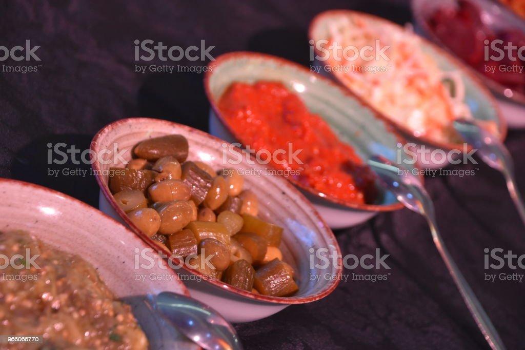 salades in geval - Royalty-free Afbeelding Stockfoto