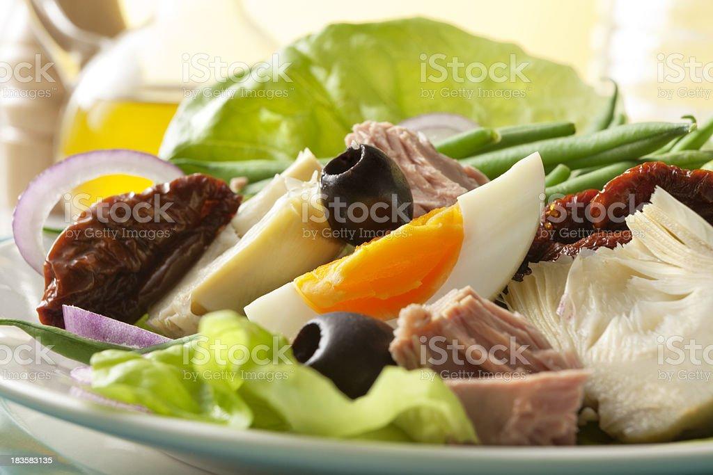 Salads: Nicoise Salad royalty-free stock photo