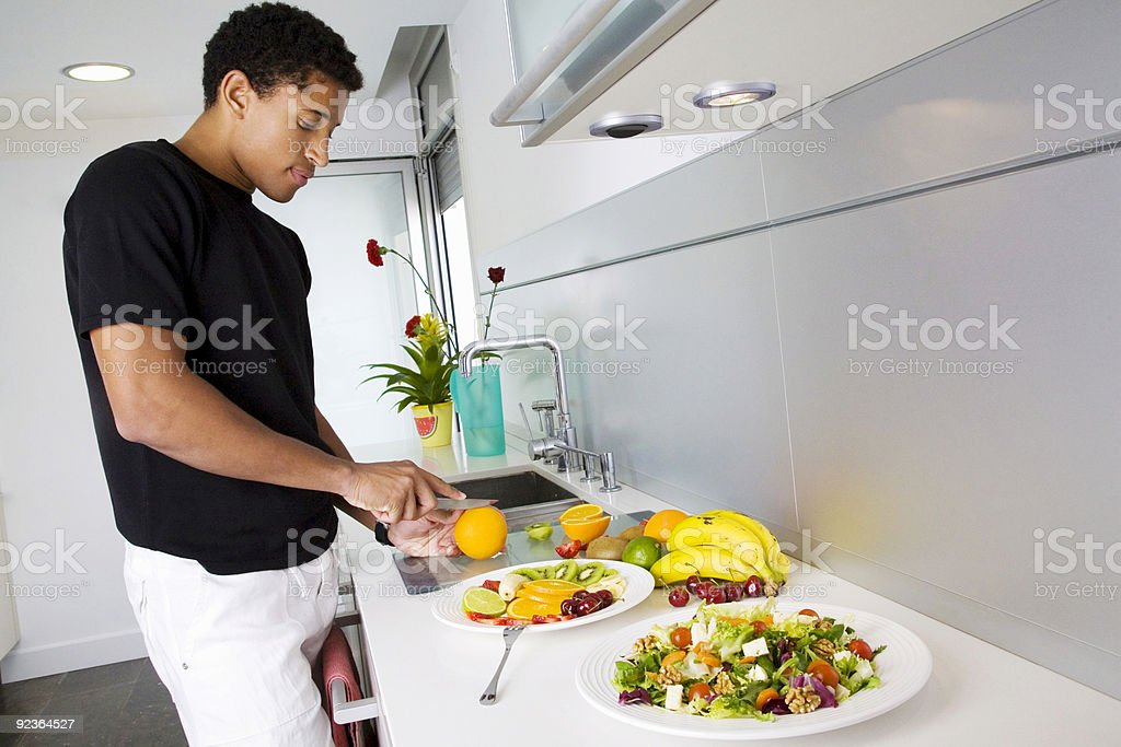 Salads time stock photo