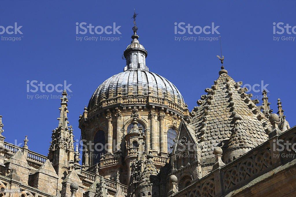 Salamanca cathedral royalty-free stock photo