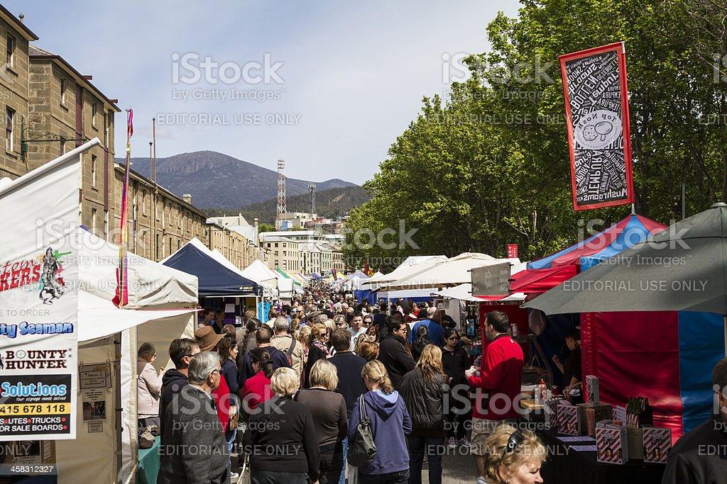 Salamanca Crowds. stock photo