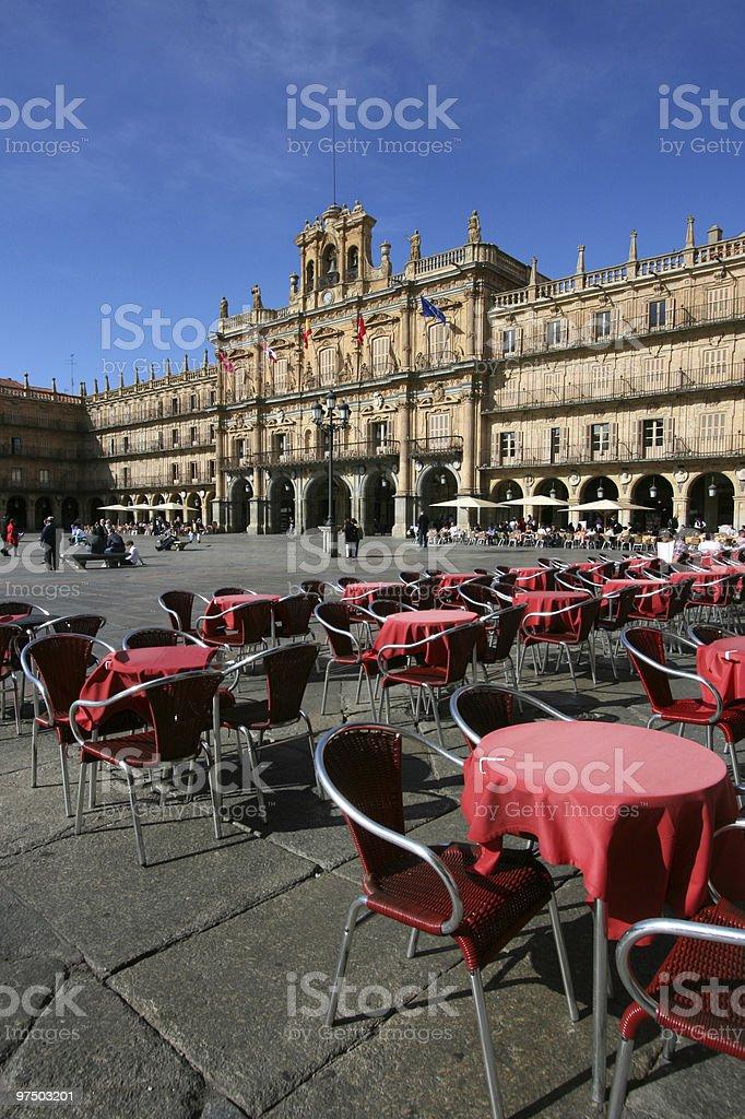 Salamanca royalty-free stock photo