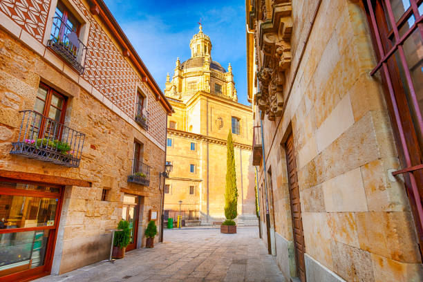 Salamanca, Spain Old Town stock photo