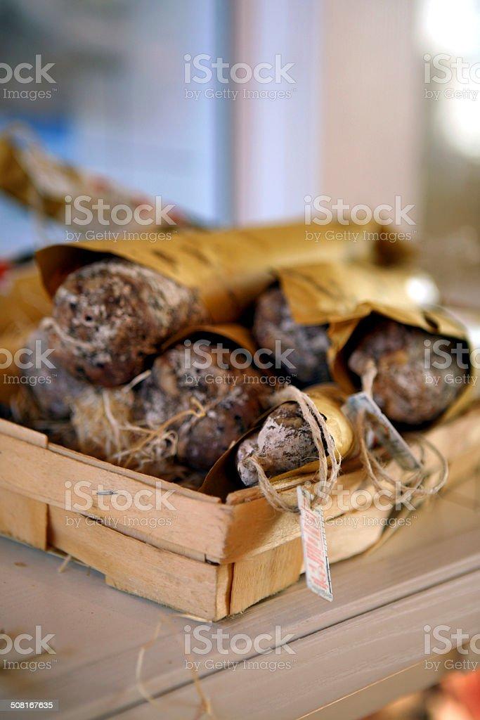salame stock photo