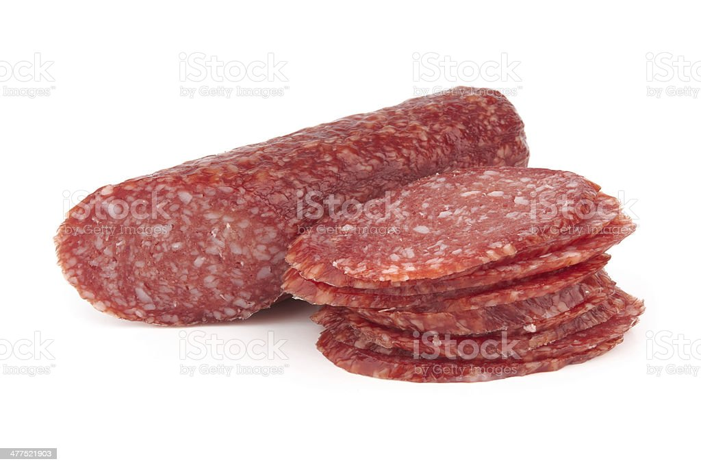 salami royalty-free stock photo