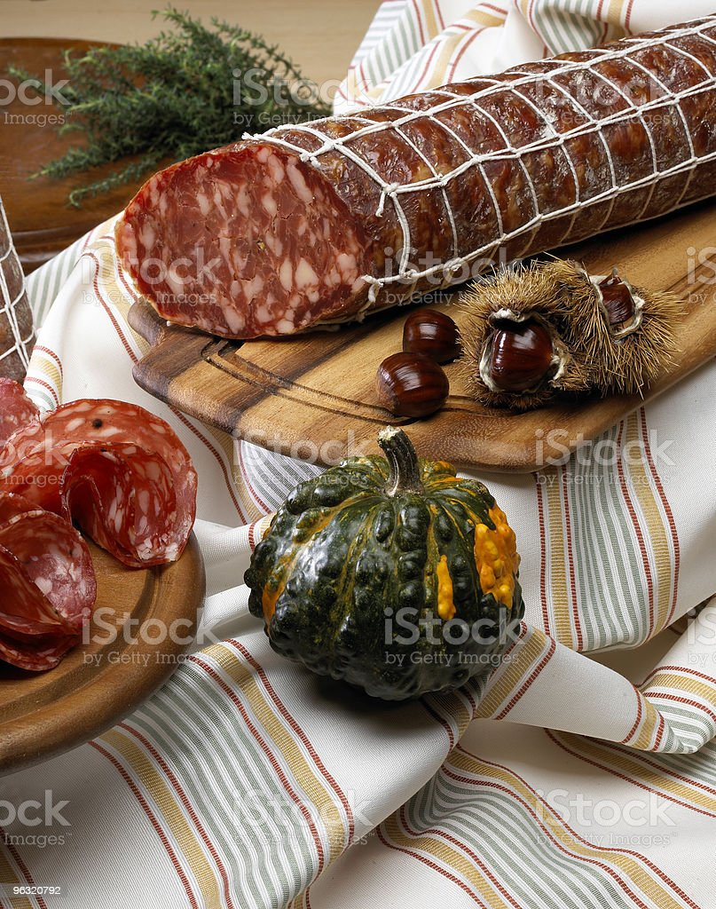 salame royalty-free stock photo