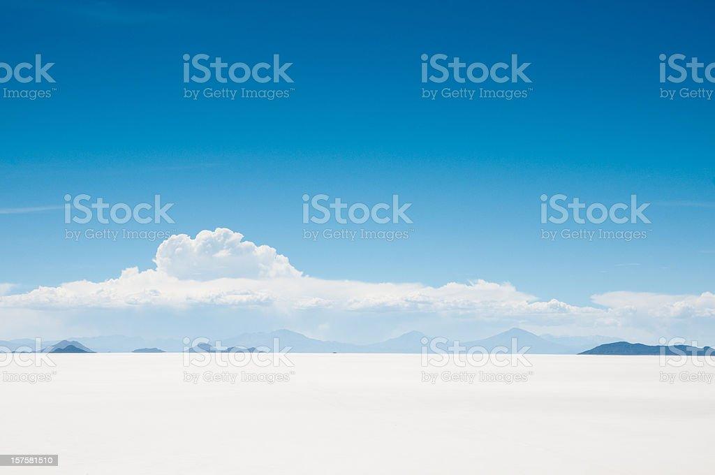 Salar de Uyuni, Bolivia royalty-free stock photo