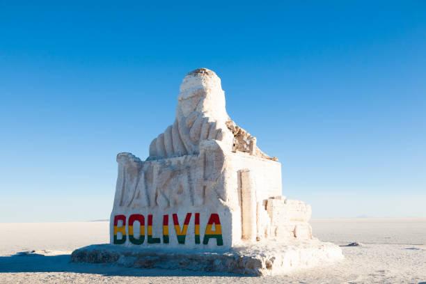 玻利維亞的烏尤尼 - 阿爾蒂普拉諾山脈 個照片及圖片檔