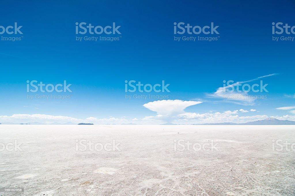 Salar de Uyuni stock photo