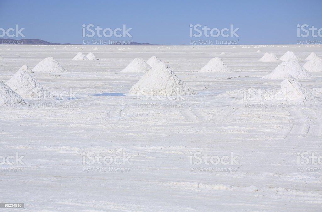 Salar de Uyuni foto stock royalty-free