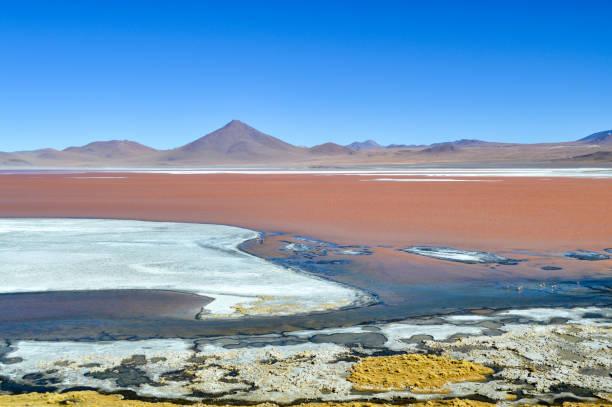 Salar de Uyuni Salt Flat in Bolivia stock photo