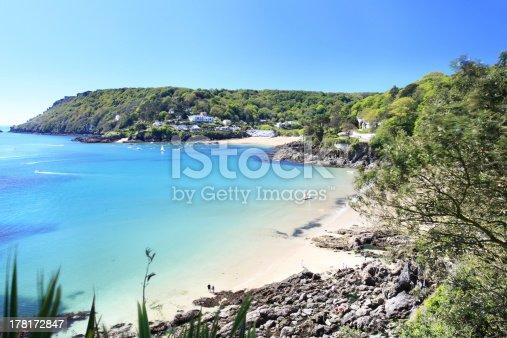 Salcombe ria (estuary) insouth Devon England UK