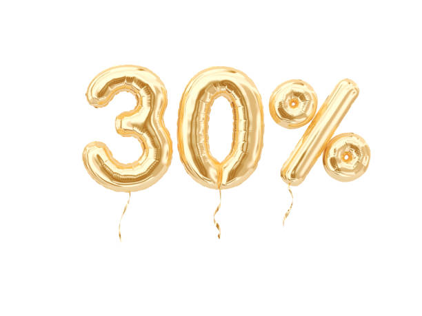 30 % sale banner - number 30 stock photos and pictures