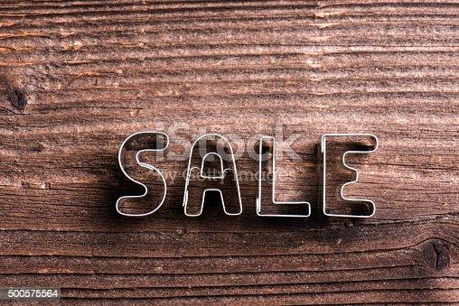1136804881 istock photo Sale composition. Studio shot 500575564