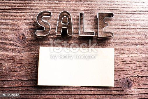 1136804881 istock photo Sale composition. Studio shot 501205832