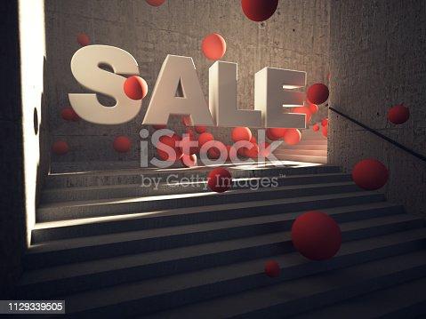 istock Sale concept 1129339505