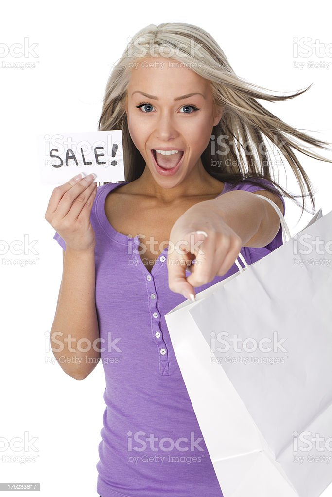 sale concept royalty-free stock photo