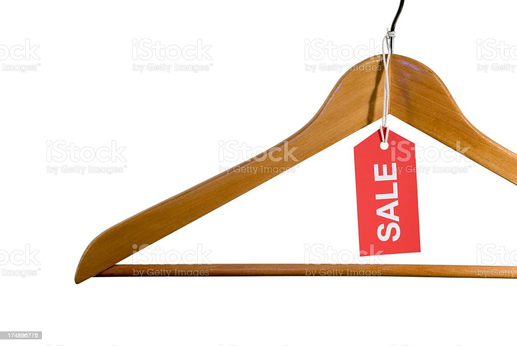 Sale Hanger royalty-free stock photo