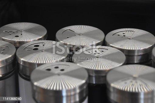 Sale of aluminum Salt shaker