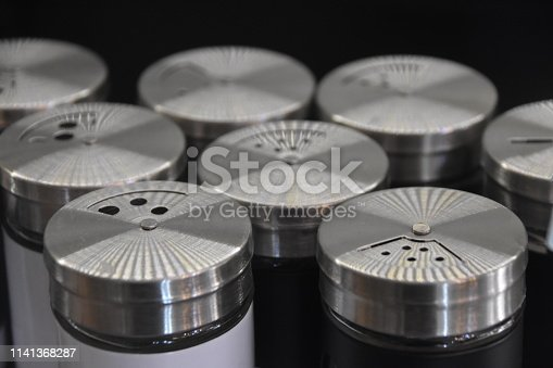Sale of aluminum Salt shaker