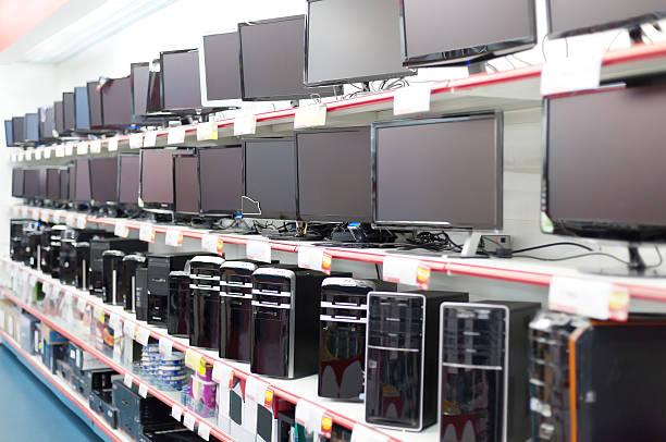 Verkauf von Computer – Foto