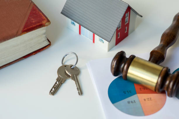 Sale of real estate stock photo