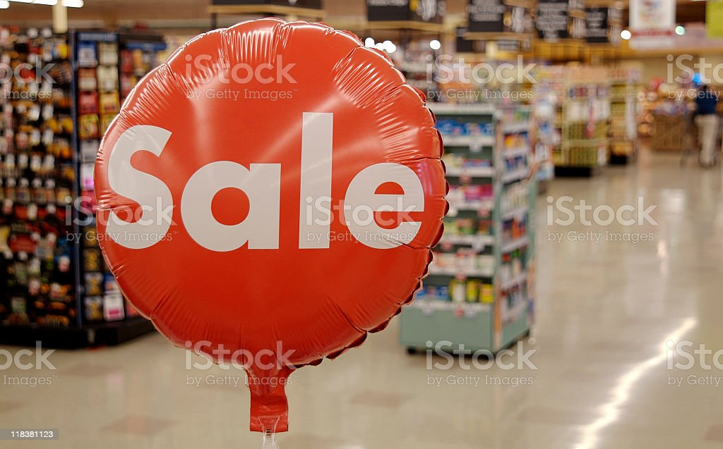 Sale royalty-free stock photo