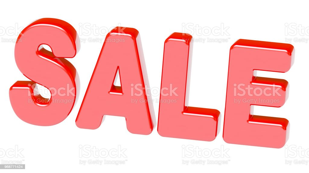 Sale stock photo