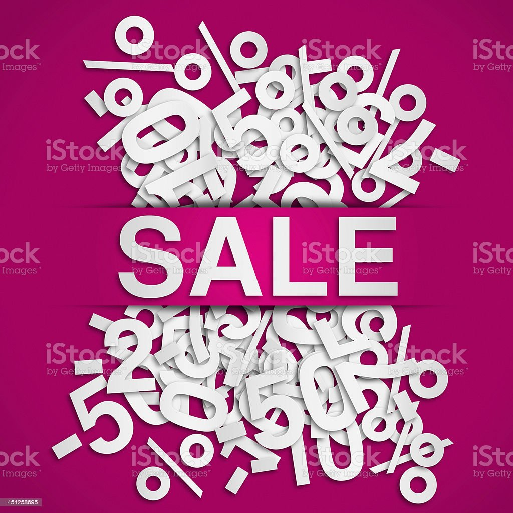 Sale poster royalty-free stock photo