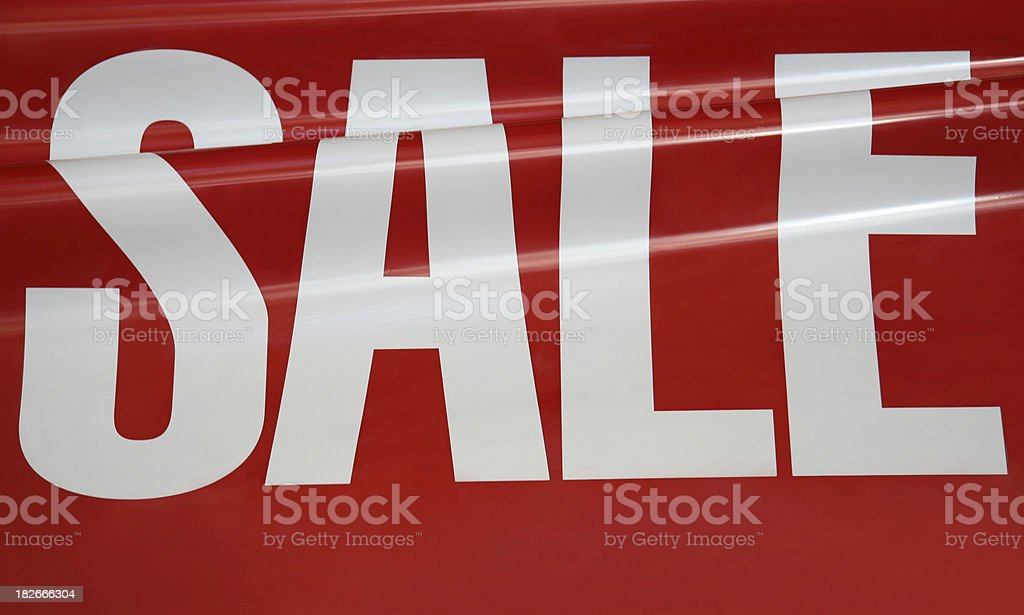 Sale Shop Sign royalty-free stock photo