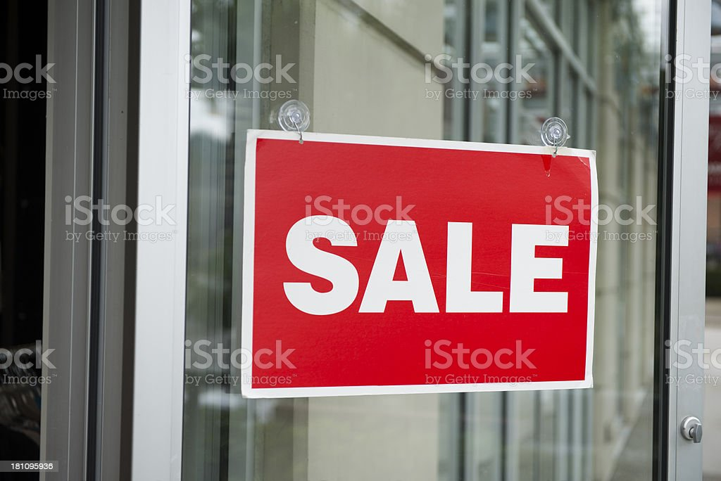 Sale Sign royalty-free stock photo
