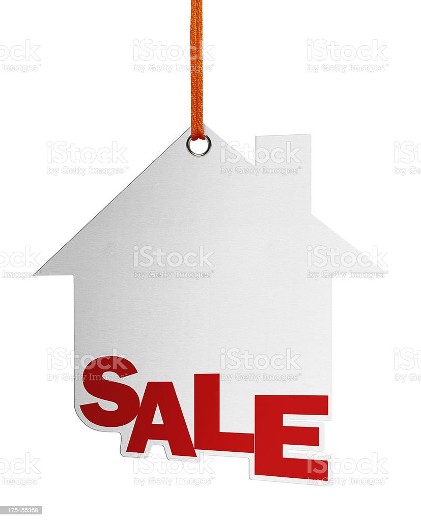 Sale, Speech Bubble (Clipping Path) royalty-free stock photo