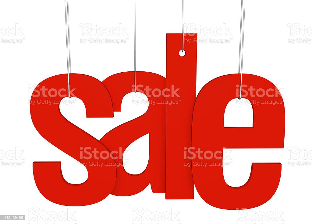 Sale Tag royalty-free stock photo