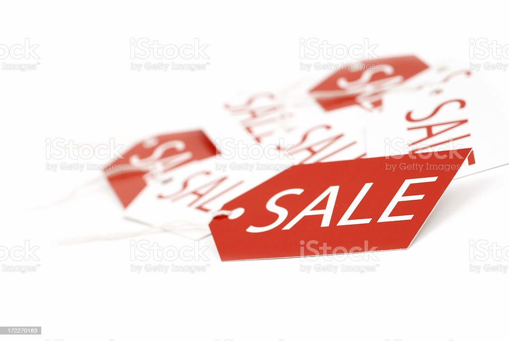 Sale Tags royalty-free stock photo