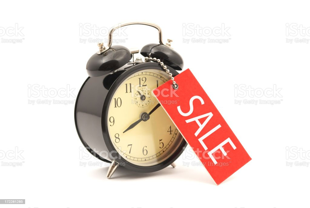 Sale Time royalty-free stock photo