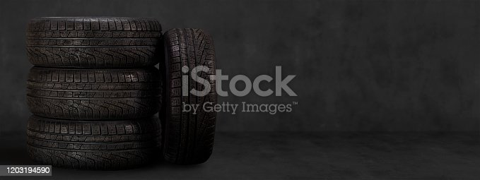 Car, Winter, Tire - Vehicle Part, Wheel, Change