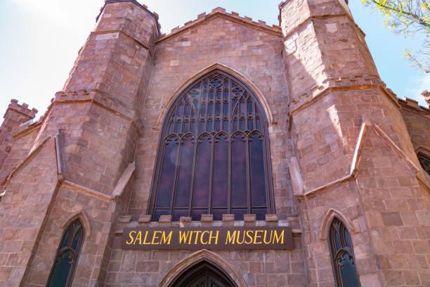 Salem Witch Museum stock photo