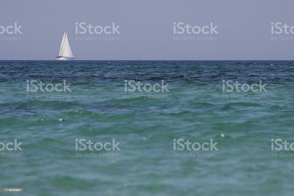 Salento - Mediterranean Sea, Puglia, Italy stock photo