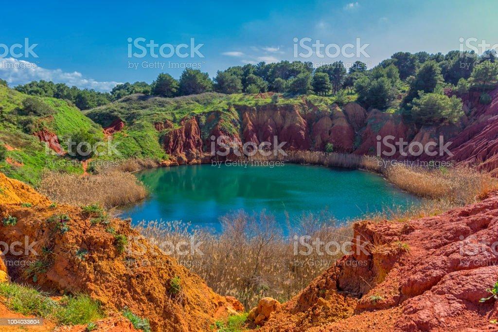 Salento: Otranto, grotte de carrière de bauxite - Photo