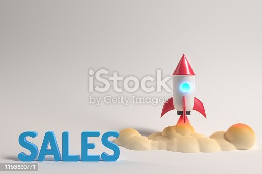 1131526784 istock photo Sales are rocketing 1153690771