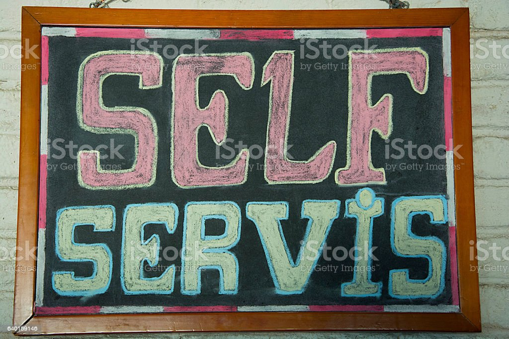 Sales, bulletin board stock photo