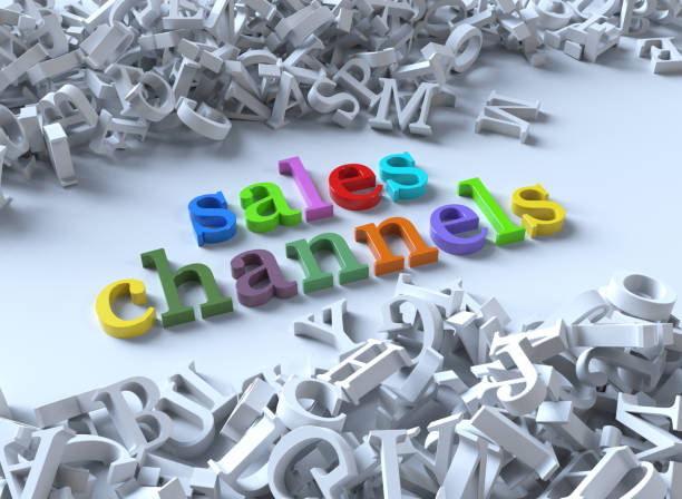 Sales Channels Sales Channels sea channel stock pictures, royalty-free photos & images