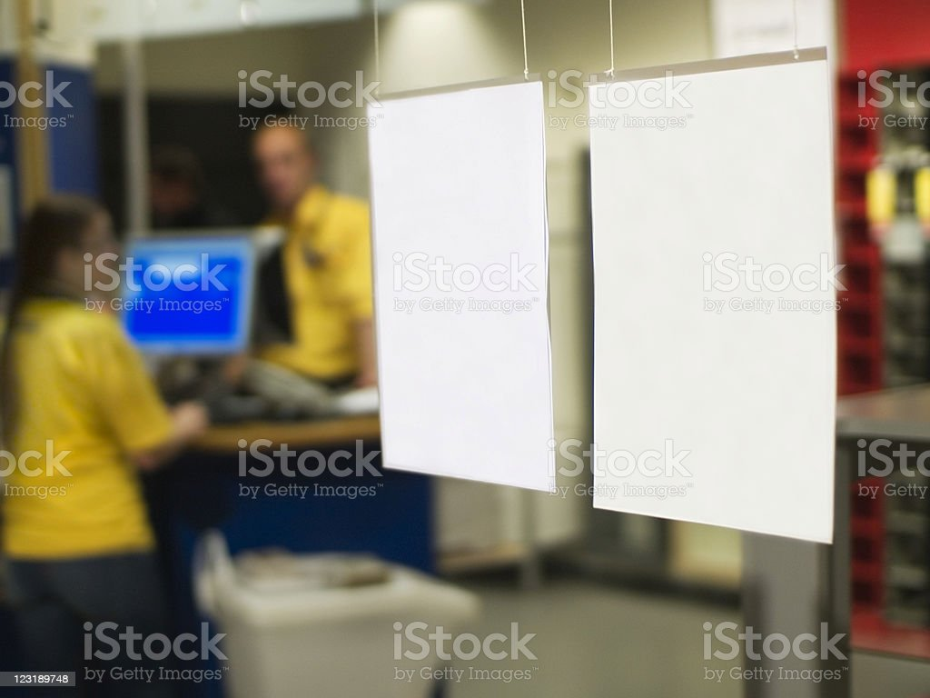 Sales Clerks royalty-free stock photo